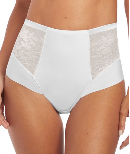 Illusion High Waist Brief FL2988 - White