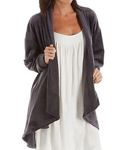 Load image into Gallery viewer, Velvet Fleece Open Cardigan