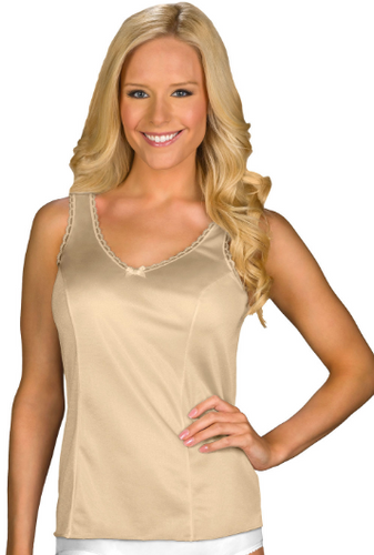 Wide Strap Camisole 2410 - Nude