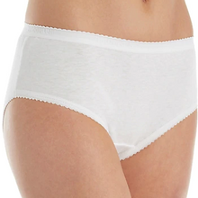 Load image into Gallery viewer, Cotton Hipster Panty - White