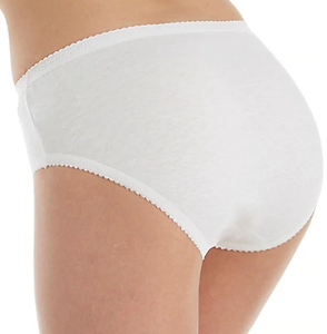 Cotton Hipster Panty - White