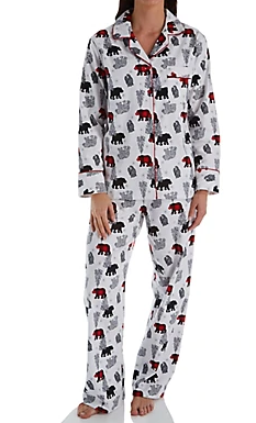 Flannel Pajamas 15175 - Multi Bear