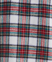 Load image into Gallery viewer, Red Plaid Flannel P.J. Set