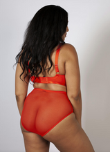 Load image into Gallery viewer, Lyla Flame Strappy High Waist Brief PPGHW039