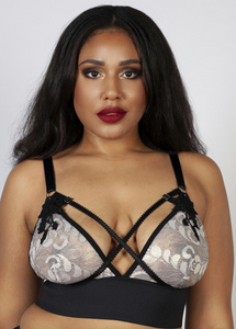 Renee Embroidered Soft Cup Bra PPGT038