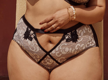Load image into Gallery viewer, Renee Embroidered High Waist Brief PPGHW038