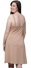 Load image into Gallery viewer, Ruched Bust Full Slip SL1006 - Beige