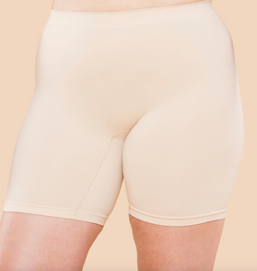 "Regular Rise Original Slip Short 7.5"" Inseam - Beige"