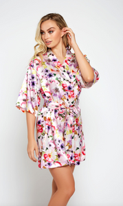 Eleanor Robe 7913 - Pink Floral