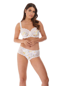 Tamara Underwire Side Support Bra - Zest