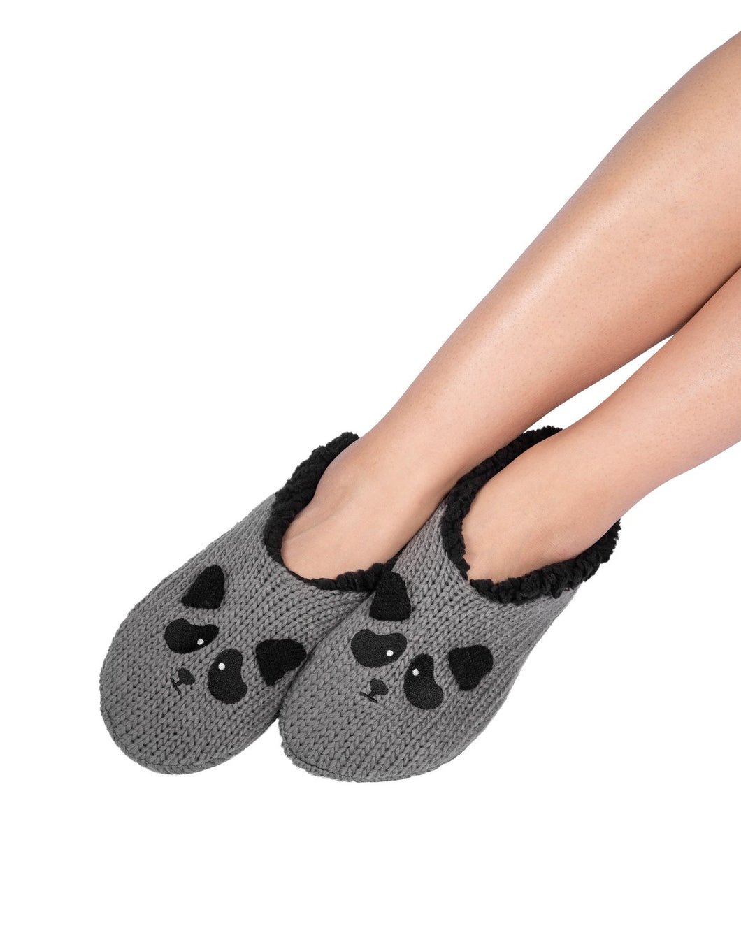 Coffee Shoppe Critter Ankle Slippers - Raccoon