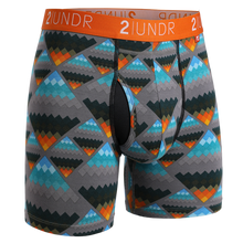 "Load image into Gallery viewer, 2UNDR 6"" Swing Shift Boxer Brief - Aztec"