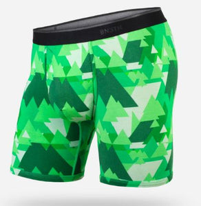 "BN3TH Classic 6.5"" Boxer Brief - Geotrees Green"