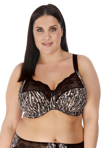 Morgan Side Support Banded Bra - Ocelot