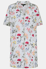 Load image into Gallery viewer, Button Front Nightgown 74780290 - Meadow Floral
