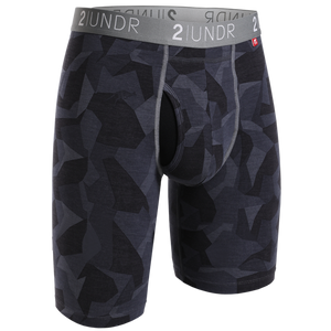"2UNDR 9"" Swing Shift Long Leg - Black Camo"