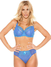 Load image into Gallery viewer, Nicole See-Thru Lace Bra - Aqua Blue Green