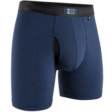 "Load image into Gallery viewer, 2UNDR 6"" Night Shift Boxer Brief - Navy"