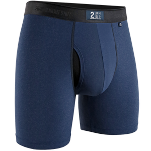 "2UNDR 6"" Night Shift Boxer Brief - Navy"