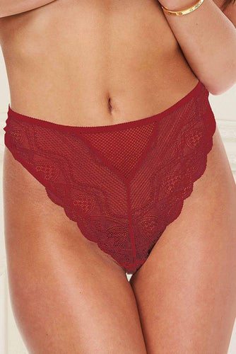 In Your Lace Panty 6006 - Wine