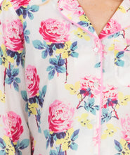 Load image into Gallery viewer, 100% Cotton Long Sleeve Sleep Shirt 1481S - Sunny Peony