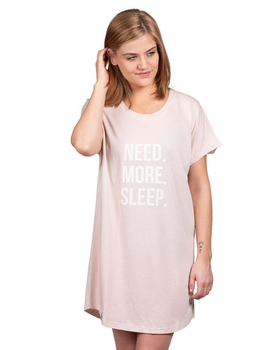 Coffee Shoppe Graphic Sleep Shirt - Need. More. Sleep.