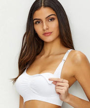 Load image into Gallery viewer, Seamless Wireless Nursing Bra 9121 - Nude or White