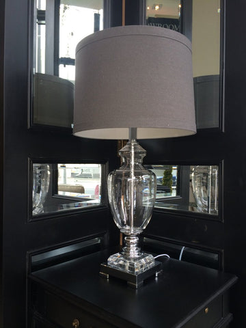 NAPLES GLASS LAMP - IN STORE CLOSING DOWN SALE NOW $199 !