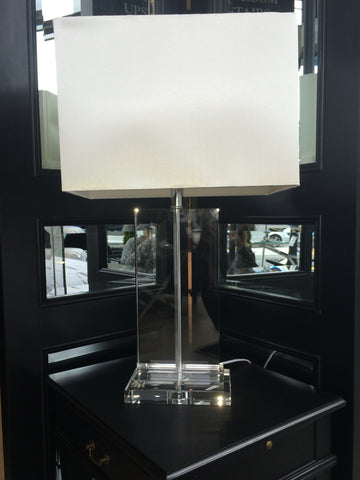 TALL CRYSTAL LAMP