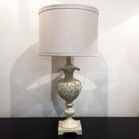 ACANTHUS LAMP - ANTIQUE CREAM - CLOSING DOWN PRICE - WAS $249