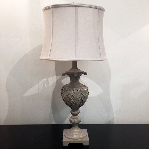 ACANTHUS LAMP - ANTIQUE BROWN