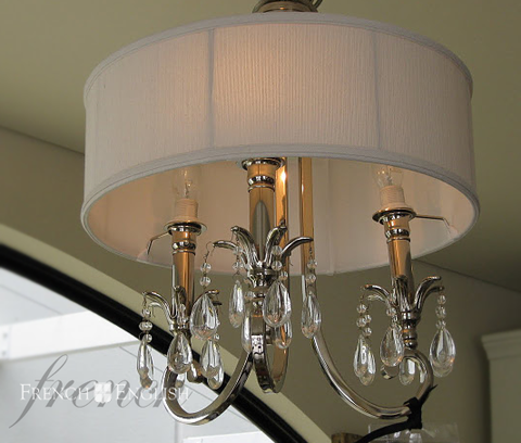 NEW YORK CHANDELIER - 3 LIGHT - CLOSING DOWN PRICE - WAS $649