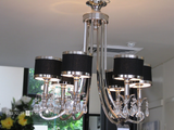 NEW YORK CHANDELIER -6 LIGHTS - CLOSING DOWN PRICE - WAS $1495 !