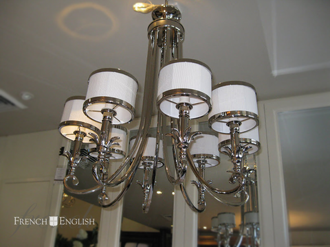 NEW YORK CHANDELIER - 8 LIGHT - CLOSING DOWN PRICE - WAS $1595 !