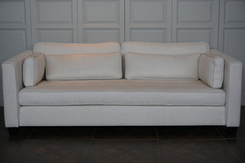 TAILORED EXETER 3 SEATER SOFA - IN STORE CLEARANCE CLOSING DOWN SALE - NOW $1500 !