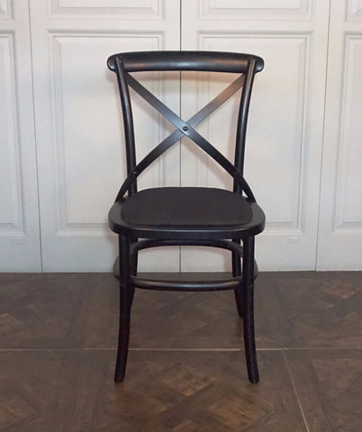 CAMPAGNA CROSS BACK CHAIR - IN STORE CLOSING DOWN CLEARANCE NOW $99 !!