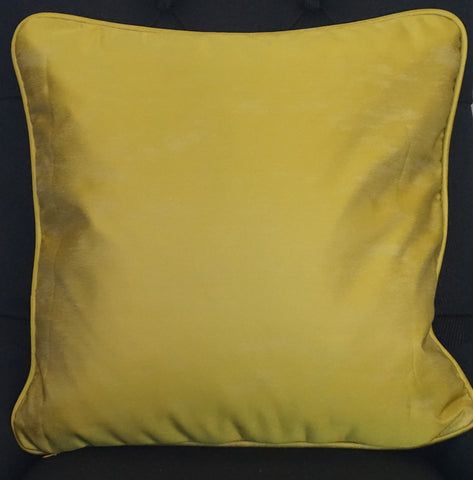 Gold Satin Cushion