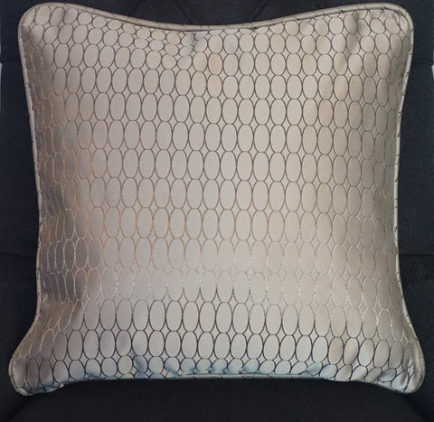 Champagne Satin Cushion - CLOSING DOWN PRICE - WAS $89