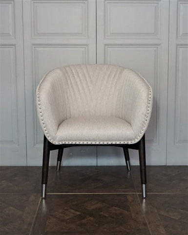 LOREN QUILTED TUB CHAIR