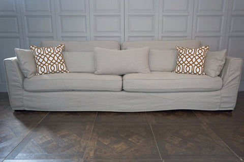 EXETER 4 SEATER LOOSE COVER SOFA - CLOSING DOWN PRICE - WAS $3495 !