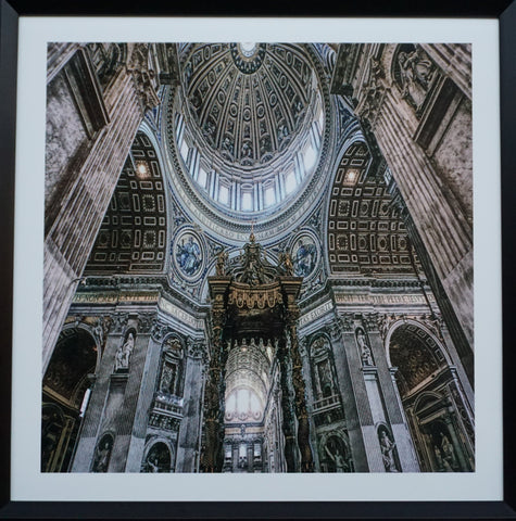 """Dome"" Photographic Artwork - IN STORE CLOSING DOWN CLEARANCE now $99 !"