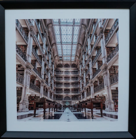 """Library"" Photographic Artwork - IN STORE CLOSING DOWN CLEARANCE $75 !"