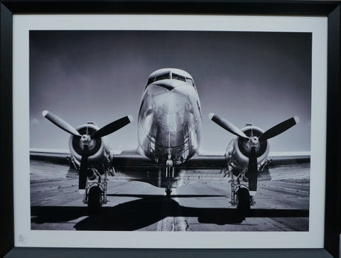 """Twin Engine"" Photographic Artwork - IN STORE CLOSING DOWN CLEARANCE now $99 !"