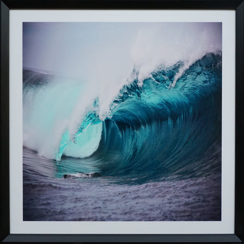 """Wave"" Photographic Artwork - IN STORE CLOSING DOWN CLEARANCE now $99 !"