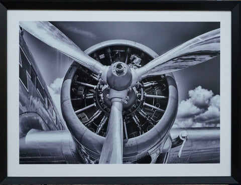 """Propeller"" Photographic Artwork - IN STORE CLOSING DOWN CLEARANCE now $99 !"