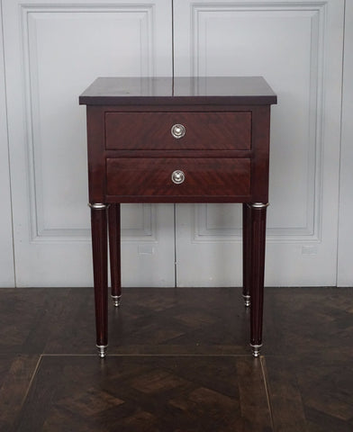 LOUIS XVI STYLE PARQUETRY SIDE TABLE