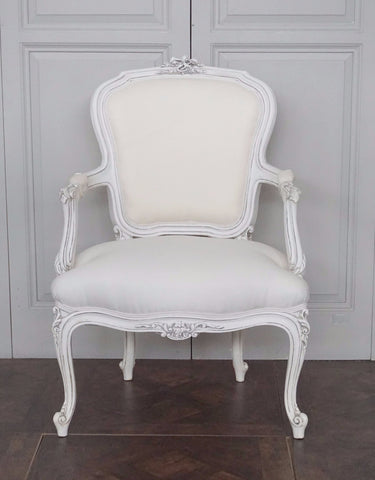 LOUIS XVI STYLE ARMCHAIR was $1495