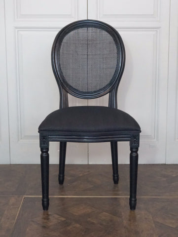 AVIGNON ROUND CANE BACK CHAIR