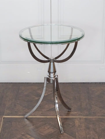 MANHATTAN STAINLESS STEEL ROUND TABLE - CLOSING DOWN PRICE - WAS $499