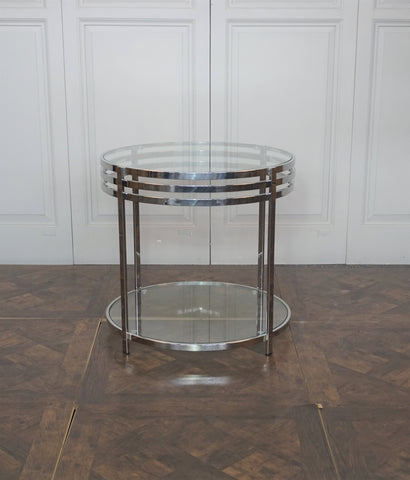 CAMBRIDGE ROUND SIDE TABLE